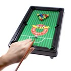 Mini Billiards Pool Table with Balls and Cues