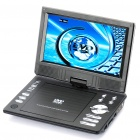 "Portable 9"" TFT LCD DVD Media Player with Game/TV/AV-In & Out/SD/USB"