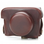 Protective Simulation Leather Pouch Bag with Strap for Panasonic GF2