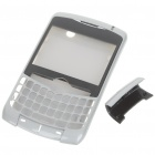 Replacement Plastic Housing Case for BlackBerry 8350 - Silver