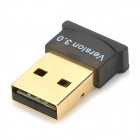 Ultra-Mini Bluetooth 3.0 USB Dongle-Musta + Kultainen