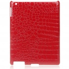 Stylish Protective PU Leather Case for   Ipad 2 - Red