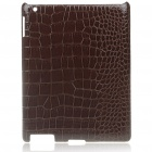 Stylish Protective PU Leather Case for   Ipad 2 - Coffee