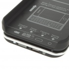 Ultrathin Bluetooth Slide-Out Keyboard Hard Case for   Iphone 4 - Black