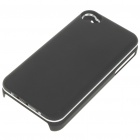 Ultrathin Bluetooth Slide-Out Keyboard Hard Case for Apple iPhone 4 - Black