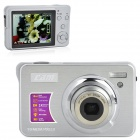 "5MP CMOS Compact Digital Video Camera w / 4x digitaler Zoom / SD Slot - Silber (2,7 ""TFT LCD)"