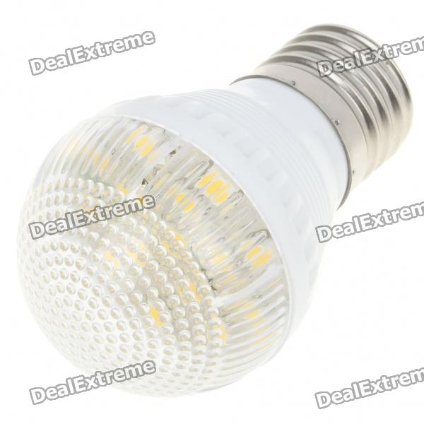 E27 3000K 3W 180-Lumen 15x5050 SMD LED Warm White Light Bulb (AC 220V) e27 2w 100 lumen 3000k 30x3528 smd led warm white light lamp bulb 110v