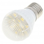E27 3000K 3W 180-Lumen 15x5050 SMD LED Warm White Light Bulb (AC 220V)