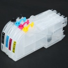 100ml Color Ink Jet Cartridge for Brother Printers LC38/LC16/LC61/LC65/LC67/LC980/LC1100/LC11
