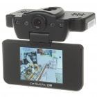 "3.0MP Wide Angle Digital Car DVR Camcorder w/ Night Vision/SD (2.5"" LCD)"