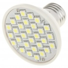 E27 7000K 4.5W 360-Lumen 30x5050 SMD LED White Light Bulb (AC 220V)