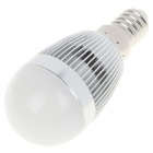 E14 3500K 3W 260-Lumen 3-LED Warm White Light Bulb (AC 85~245V)