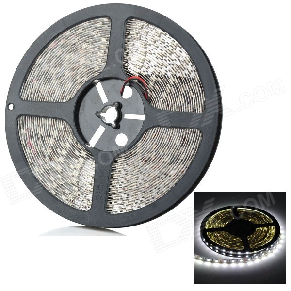 108W 7000K 600x5050 SMD LED White Light Strip (10-Meter/12V)