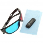 USB Worldwide HD/3D Internet TV/Movies Stations Player Dongle with 3D Glasses