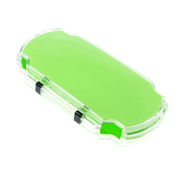 stylish padded crystal case for psp green free