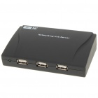 4-Port USB 2.0 LAN Ethernet Networking Printer Server