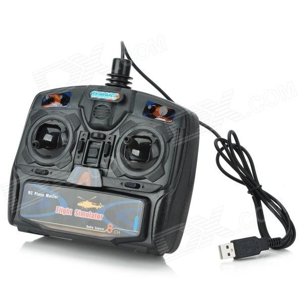 X-Power 8-Ch USB RC Flight Simulator Kit (Left Throttle Transmitter)