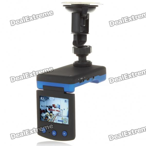 "5.0MP Wide Angle Digital Car DVR Camcorder w/ Night Vision/AV-Out/SD (2.4"" LTPS LCD)"