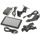 "5"" Touch Screen LCD WinCE 5.0 GPS Navigator w/ FM + Internal 2GB USA/Canada/Mexico Maps TF Card"