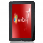 "10,1 ""Kapazitive LCD Win 7 Ultimate Tablet PC w / Wi-Fi/TF/Bluetooth/HDMI/Camera (2G DDR3/32G SSD)"
