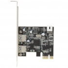 2-Port USB 3.0 SuperSpeed PCI-E Controller Card
