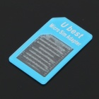 Micro Sim Card to Standard Sim Card Adapter (Random Colors)