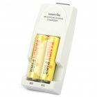 FandyFire All-in-One Battery Charger with 18650 Batteries Set