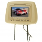 Car Headrest 7' LED Wide Screen Monitor (NTSC/PAL/DC 12V)
