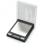 "Unique Mini CD Case Style 1.2"" LCD Digital Scale - 100g / 0.01g (2xCR2032)"