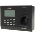 "3.0"" LCD Fingerprint Time Attendance Machine - Black (AC 100~240V)"