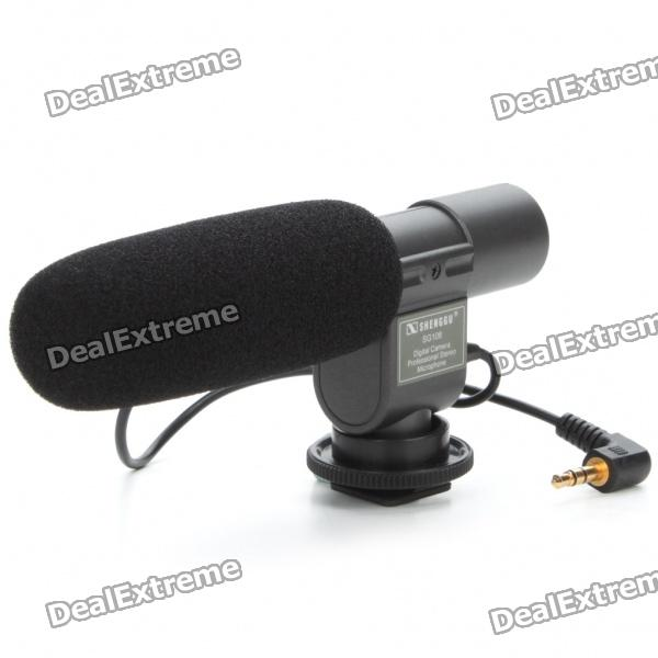 Mini Professional Stereo Microphone for DV Camcorder (1 x CR2) professional directional stereo microphone 1 x cr2