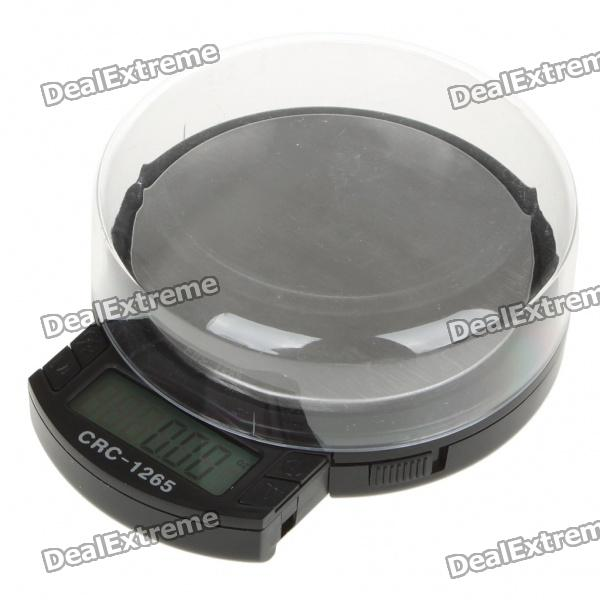 "Portable 1,3 ""LCD 2-Mode haute capacité Precision Digital Pocket Scale - Max 1200g (2 x AAA)"