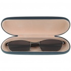 Anti-Track UV Protection Sunglasses with Protective Case - Black