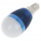 E14 3W 240-260LM 3500K Warm White Light LED Globular Bulb (85~245V)