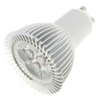 GU10 3W 260LM 6500K Cool White Light 3-LED Cup Bulb (85~245V)