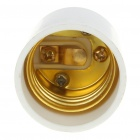 GU10 Male to E27 Female Light Lamp Bulb Adapter Converter (12~265V)