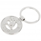 3D Skoda Logo Keychain - Silver