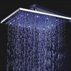 12inch LED Color Changing Square Shower Head
