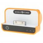 1100mAh USB Rechargeable Emergency Power Charger Battery Pack for iPhone 4/3G/iPad/iPad 2 - Orange