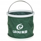 13-Litre Foldable Water Bucket - Green + White