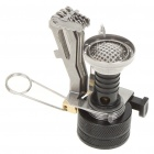 Ultra Mini Portable Outdoor Metal Gas Stove (2 x AG3)