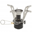Ultra Mini Portable Outdoor Metal Gas Stove
