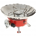 Compact Portable Windproof Camping Gas Stove (2 x AG3)