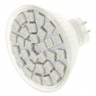 MR16 590NM 5.5W 360-Lumen 30x5050 SMD LED Yellow Light Bulb (12V)