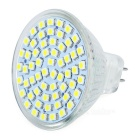 MR16 6500K 4W 240-Lumen 60-SMD LED White Light Bulb (12V)