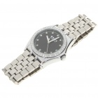 Stainless Steel Mechanical Wrist Watch - Silver