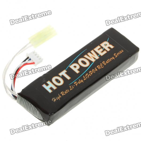 HOT POWER 11.1V 1600mAh 15C Li-Po Battery for AK Airsoft hot new battery 12n 1600scb 12n1600scb 12n 1600scb 14 4v 1600mah battery pack with plug