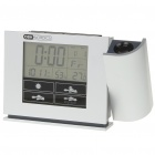 "Multi-Function 4"" LCD Alarm Clock (2 x AA)"