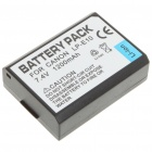LP-E10 Compatible 1200mAh Battery Pack for Canon EOS 1100D - Black