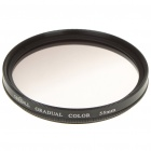 Optical Glass UV Camera Lens Filter - Graduated Grey (55mm)